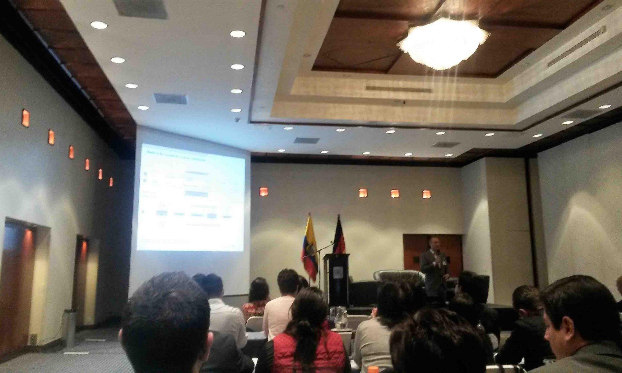 Primer Foro de Innovación y Tecnología-Quito